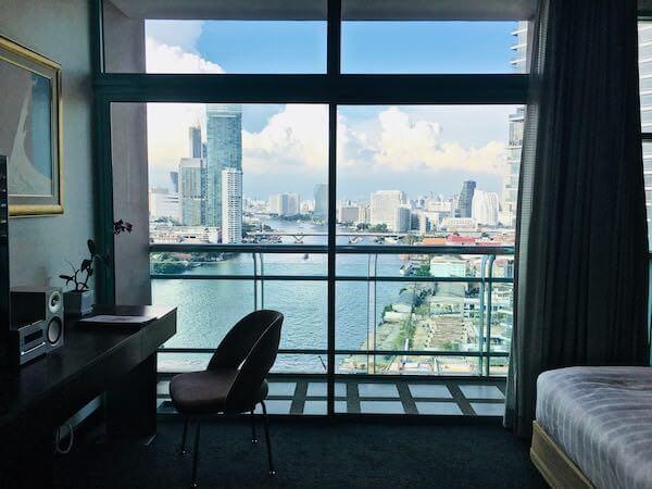 シャトリアム ホテル リバーサイド バンコク (Chatrium Hotel Riverside Bangkok)のバルコニー1