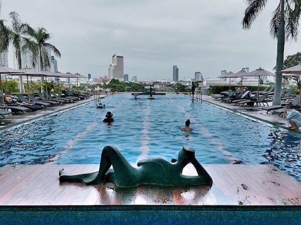 チャトリウム ホテル リバーサイド バンコク (Chatrium Hotel Riverside Bangkok)のプール1
