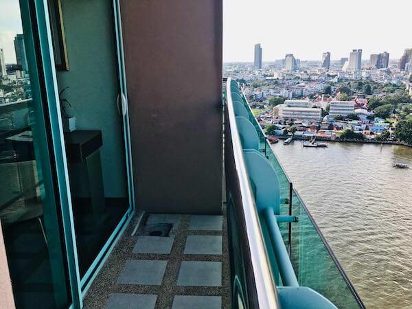 チャトリウム ホテル リバーサイド バンコク (Chatrium Hotel Riverside Bangkok)のバルコニー