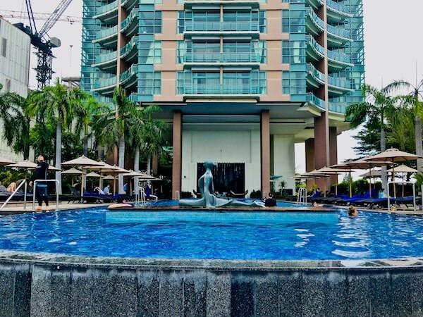 チャトリウム ホテル リバーサイド バンコク (Chatrium Hotel Riverside Bangkok)のプール2