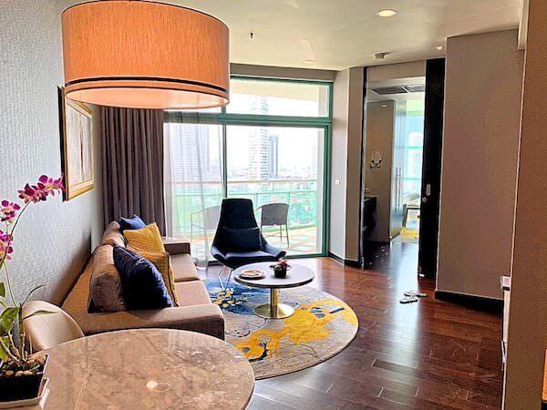 シャトリアム ホテル リバーサイド バンコク(Chatrium Hotel Riverside Bangkok)の子連れ向け客室1