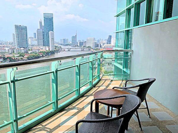 チャトリウム ホテル リバーサイド バンコク(Chatrium Hotel Riverside Bangkok)のバルコニー