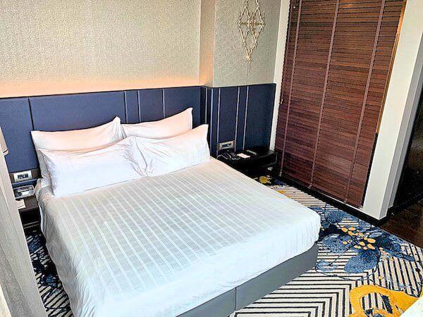 チャトリウム ホテル リバーサイド バンコク(Chatrium Hotel Riverside Bangkok)の子連れ向け客室のベッド