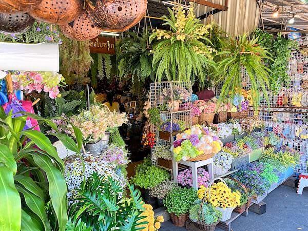 チャトゥチャックウィークエンドマーケットの植物・ガーデニング用品専門店