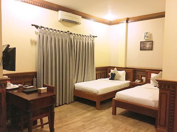 チャイラ アンコール ホテル (Chayra Angkor Hotel)の客室1