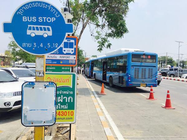 チェンマイ空港の路線バス