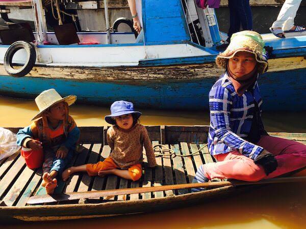 チョンクニア ベトナム人家族