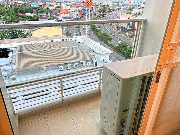 クラシック カメオ ホテル アンド サービスド アパートメンツ アユタヤ (Classic Kameo Hotel and Serviced Apartments, Ayutthaya)のバルコニー