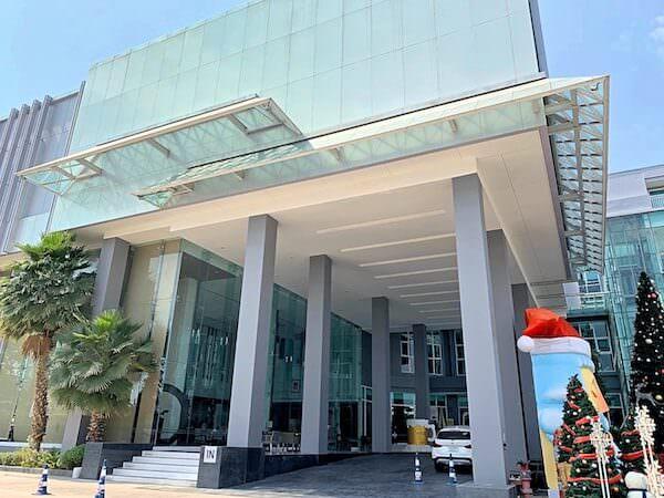 クラシック カメオ ホテル アンド サービスド アパートメンツ ラヨーン(Classic Kameo Hotel and Serviced Apartments Rayong)の外観