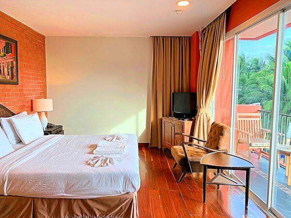 コースト バンセーン(Coasta Bangsaen)の客室ベッドルーム