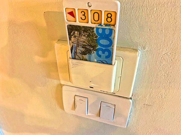 コースト バンセーン(Coasta Bangsaen)の客室カードキー