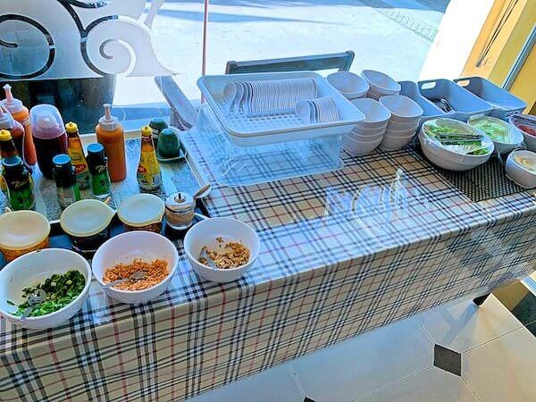 コースト バンセーン(Coasta Bangsaen)の朝食2