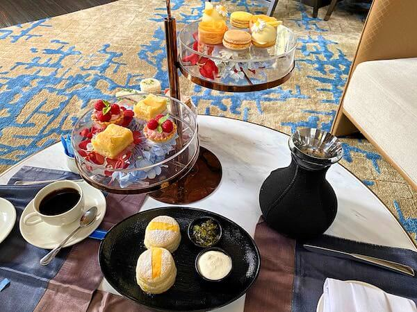 コンラッド バンコク(Conrad Bangkok)のアフタヌーンティーのアフタヌーンティーで食べたスイーツ1