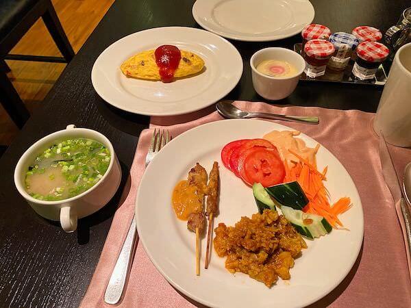 コンラッド バンコク(Conrad Bangkok)で食べた朝食