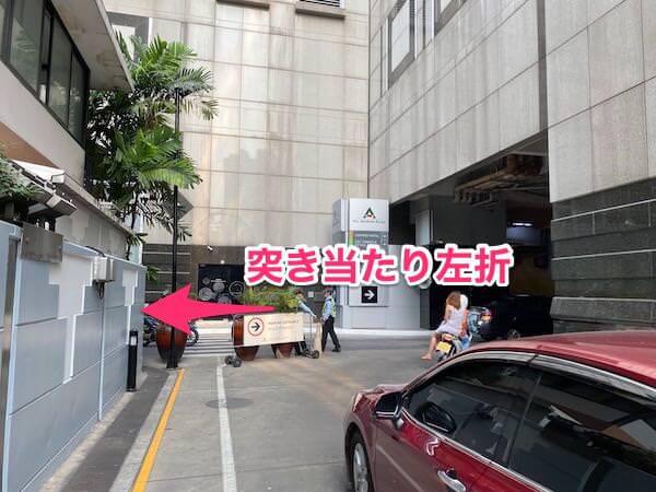 コンラッド バンコク(Conrad Bangkok)の敷地内2