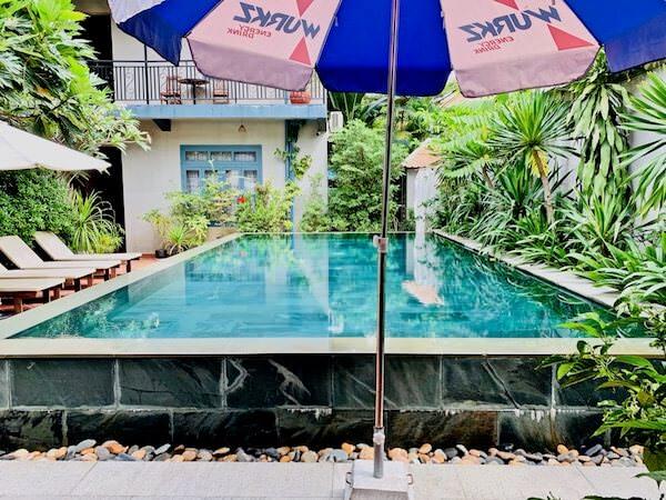 コーナー9 バサック ブティック ホテル(Corner9 Bassac Boutique Hotel)のプール