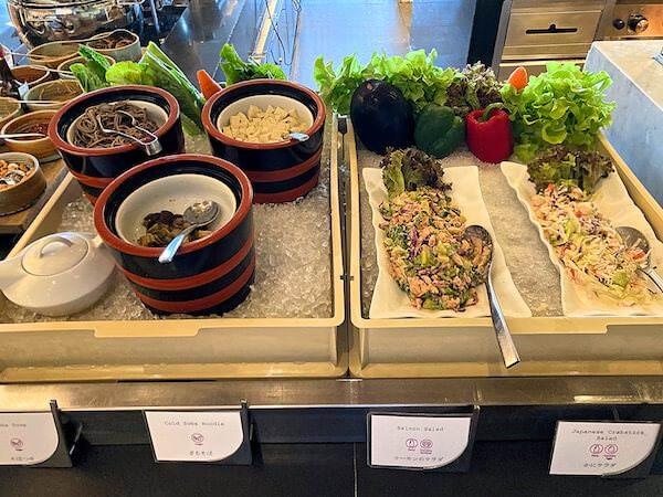 クラウンプラザ バンコク ルンピニ パーク(Crowne Plaza Bangkok Lumpini Park)の日本食の朝食