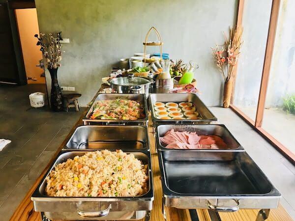 カーブ 360 ホテル カオヤイ(Curve360 Hotel Khao Yai)の朝食1