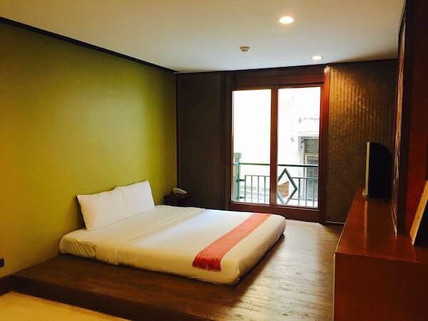 ダン ドゥーム ホテルの客室1