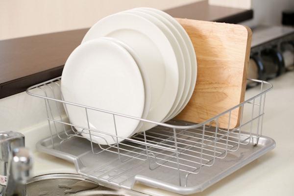 洗い終わったお皿