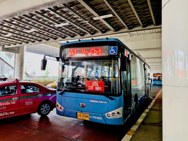 ドンムアン空港のA1エアポートバス