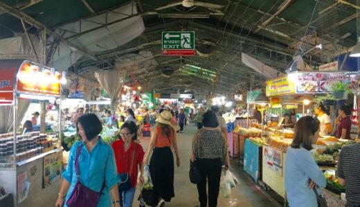 ドンワイ水上マーケット。バンコク郊外にあるローカル市場の観光。