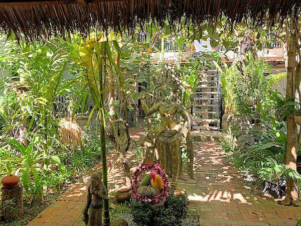 ドリーム バタフライ ガーデン ブティック ヴィラ(Dream Butterfly Garden Boutique Villa)の中庭1