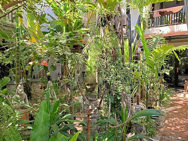 ドリーム バタフライ ガーデン ブティック ヴィラ(Dream Butterfly Garden Boutique Villa)の中庭2
