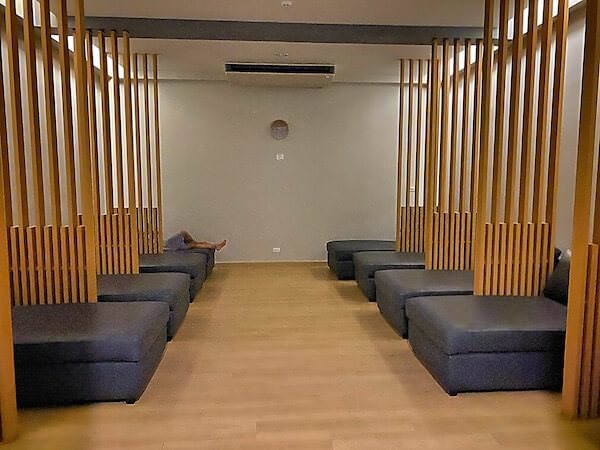 Dzen Onsen and Spaのリラクゼーションスペース