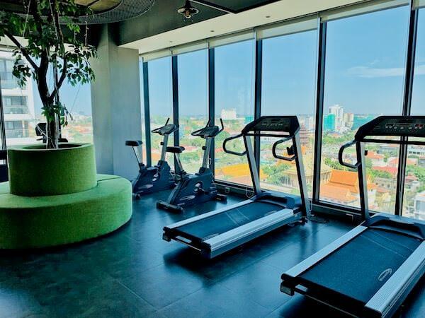 フェリス アーバン ホテル(Feliz Urban Hotel)のトレーニングジム
