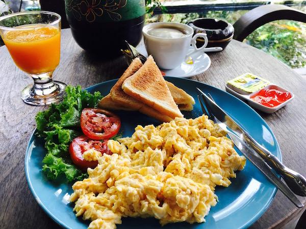 フォレスト スコータイ ゲストハウス(Forest Sukhothai Guest House)の朝食