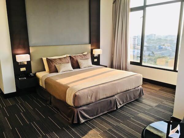 フォーチュン ラジュプルーク ホテル (Fortune Rajpruek Hotel)のベッド1