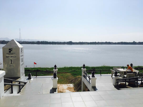 フォーチュン リバー ビュー ホテル ナコーン パノム (Fortune River View Hotel Nakhon Phanom)の中庭