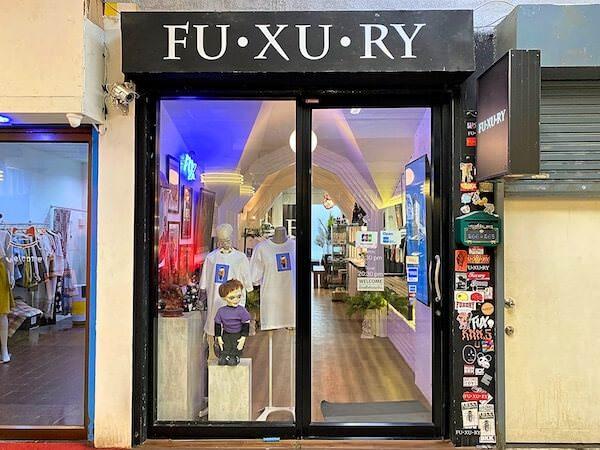 FU-XU-RY(ファクシュアリー)の店舗外観