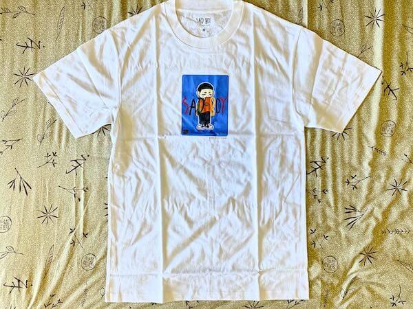 購入したFU-XU-RY(ファクシュアリー)のTシャツ