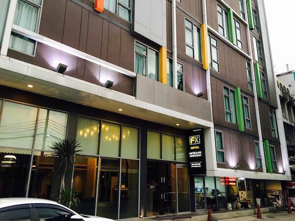 FX ホテル メトロリンク マッカサン(FX Hotel Metrolink Makkasan)の外観