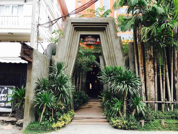 ゴールデン テンプル ブティック (Golden Temple Boutique)の入り口