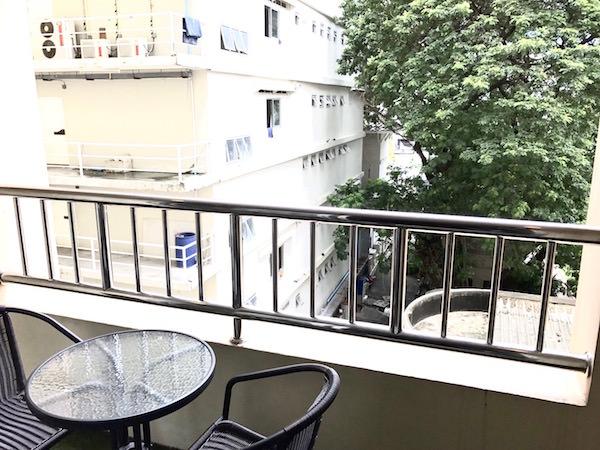 グランド メルキュール バンコク アソーク レジデンス(Grand Mercure Bangkok Asoke Residence)のバルコニー