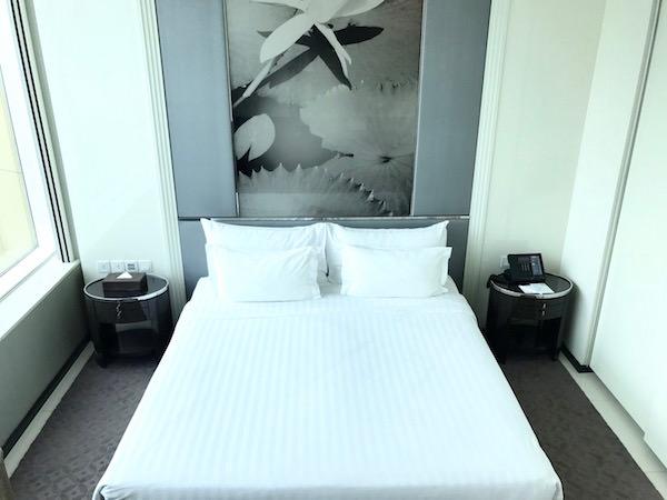 グランド センター ポイント ホテル ターミナル 21 (Grande Centre Point Hotel Terminal 21)のベッド