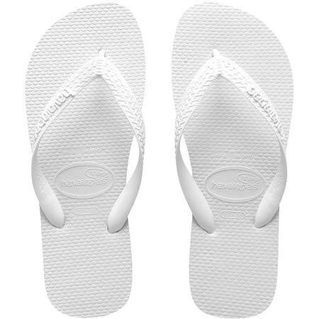 ハワイアナスのビーチサンダル(白)