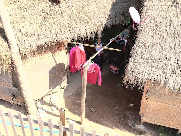 首長族の住居
