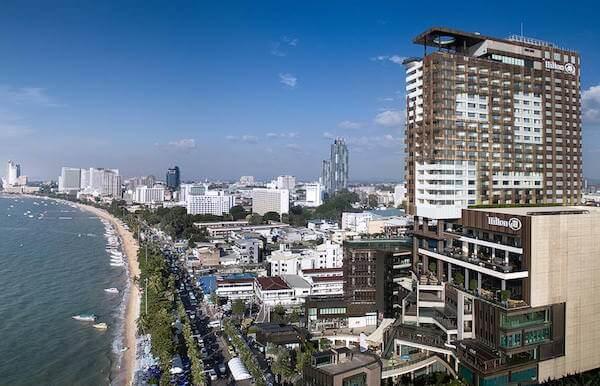 ヒルトン パタヤ (Hilton Pattaya)の航空写真