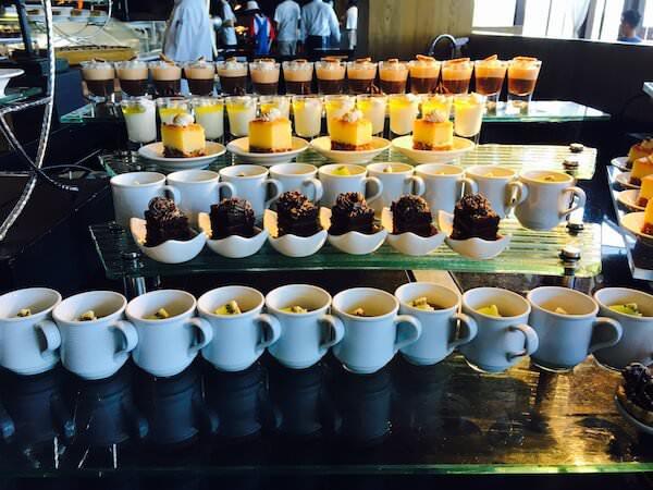 ヒルトン パタヤ (Hilton Pattaya)エッジビュッフェのデザート