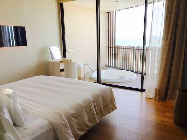 ヒルトン パタヤ (Hilton Pattaya)のベッドルーム