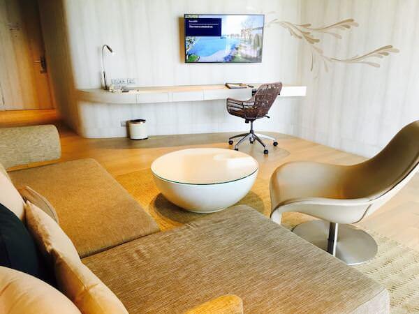 ヒルトン パタヤ (Hilton Pattaya)のソファー