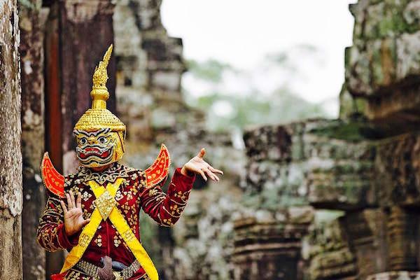 ヒンドゥー教のダンサー