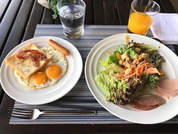 ホリデイ イン アンド スイーツ ラヨーン シティ センター(Holiday Inn and Suites Rayong City Centre)の朝食