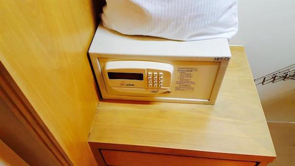 ホープランド エグゼクティブ サービス アパートメントのセーフティボックス