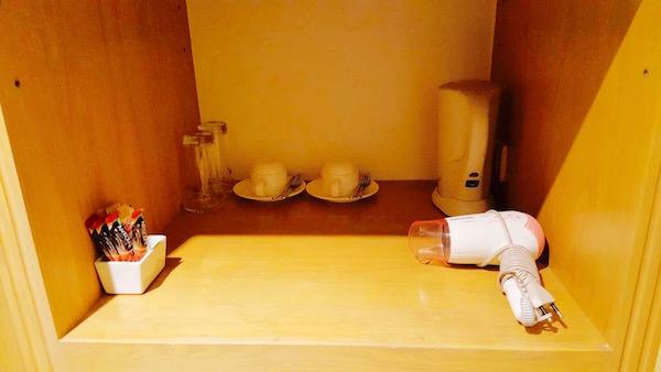 ホープランド エグゼクティブ サービス アパートメントの無料コーヒー類