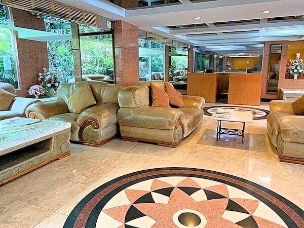 ホープランド エグゼクティブ サービス アパートメントのエントランスロビー